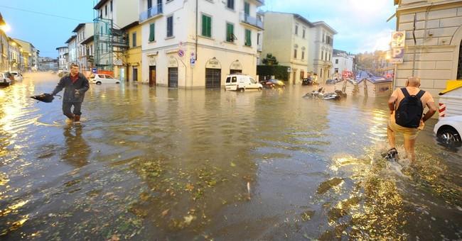 Rome-Milan train service back after storm pummels Florence