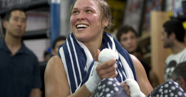 UFC's Ronda Rousey to star in biopic based on her memoir