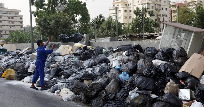 Lebanon's trash crisis worsens amid rising heat, anger