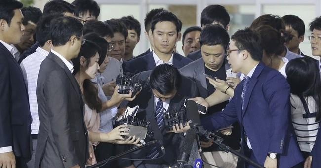 Son demotes dad in battle for control of S. Korean retailer