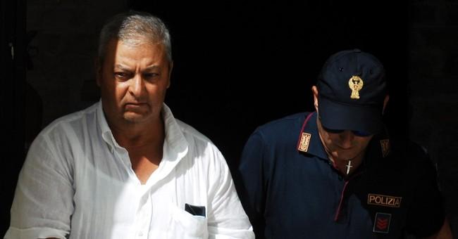 Police: Messages for No. 1 Mafioso hidden in Sicilian soil