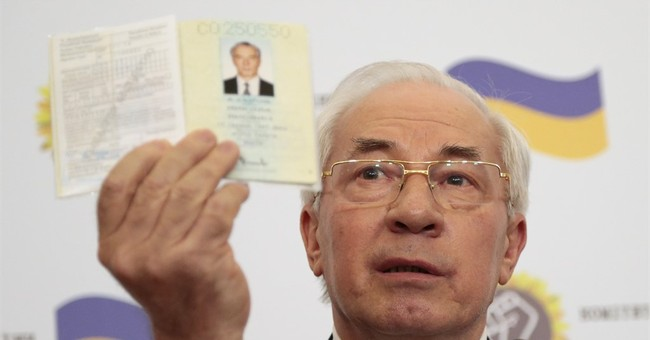 Ukraine's ex-PM sets up 'Ukraine salvation committee'