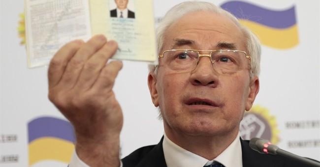Ukraine's ex-PM sets up 'Ukraine salvation committee'