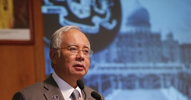 Malaysian agency: Money in Najib's accounts came from donors