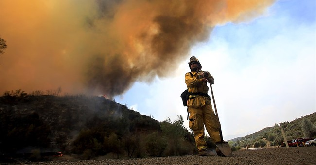 Week-old wildfire wreaks havoc on California vacation spot