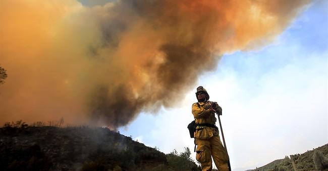 Week-old wildfire wreaks havoc on California vacation spot