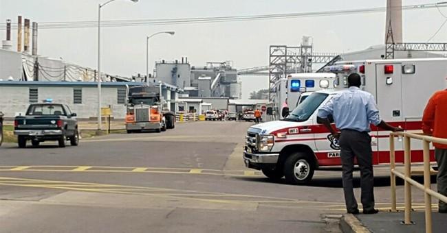 Large explosion rocks southeast Missouri aluminum plant