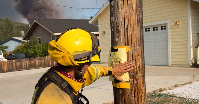 The Latest: California wildfire 20 percent contained