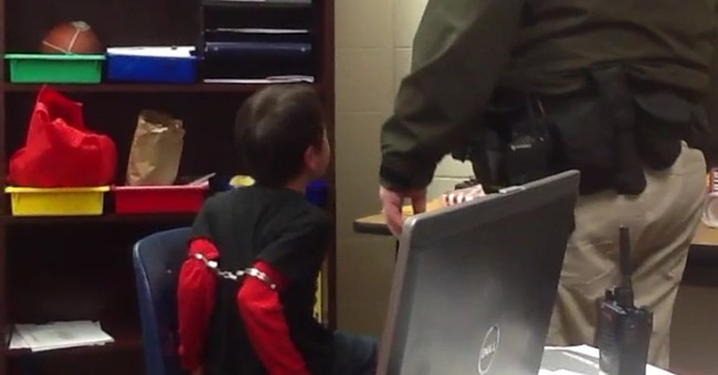 Shackling video ignites debate on school discipline