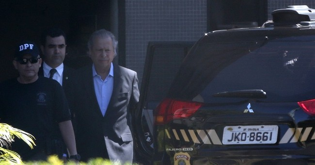 Former Brazil chief of staff arrested in Petrobras scandal