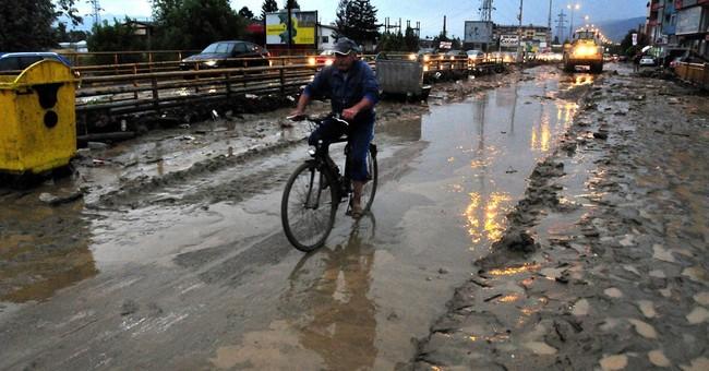 Flash floods kill 4, including 3 children, in Macedonia