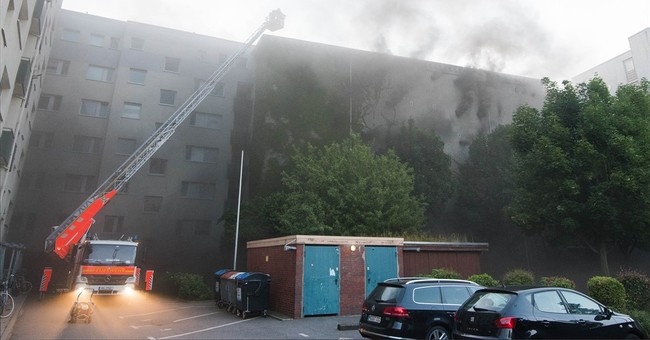 Germany: 43 injured in fire at former air-raid shelter
