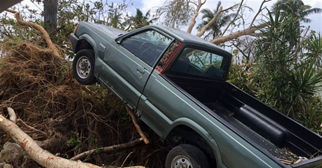 Saipan has no water, electricity in aftermath of typhoon