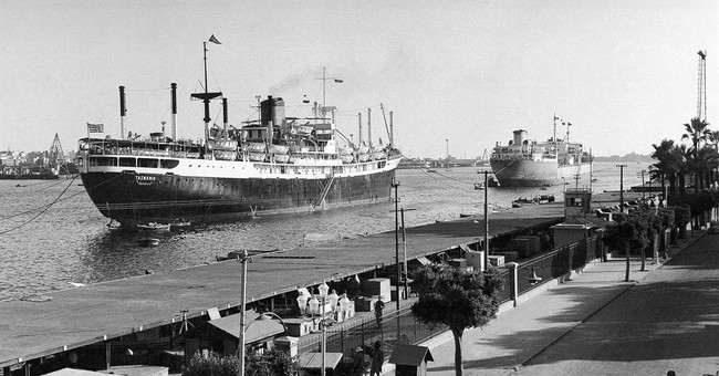 AP WAS THERE: Egyptian president nationalizes the Suez Canal