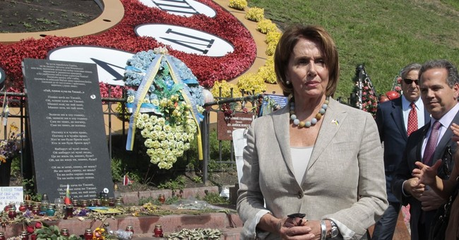 Ukraine argues for US weapons during Pelosi's visit to Kiev