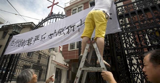 Severe crackdown in China on church crosses draws backlash
