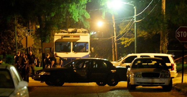 The Latest: Mayor decries killing of Shreveport officer