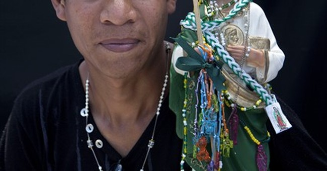 AP PHOTOS: Mexicans seek help from saint of lost causes