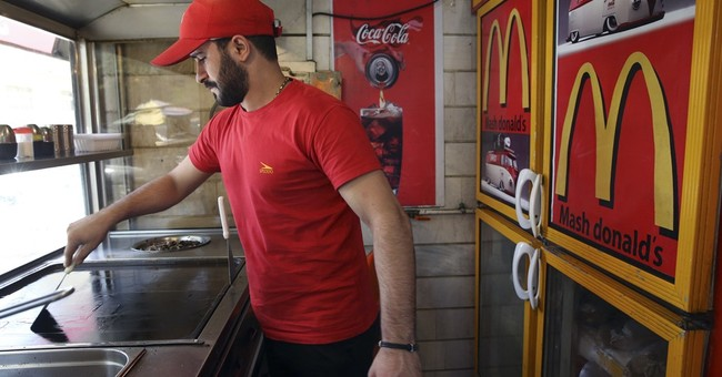 American culture, from fast food to actors, seeps into Iran