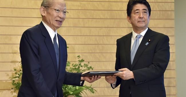 Panel praises Japan's postwar economy before Abe speaks