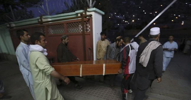 Police say truck bomb in Kabul kills 8 people, wounds 198
