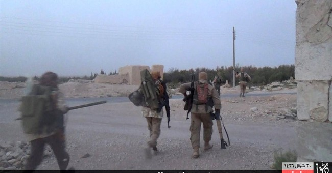 Islamic State group seizes central Syrian town