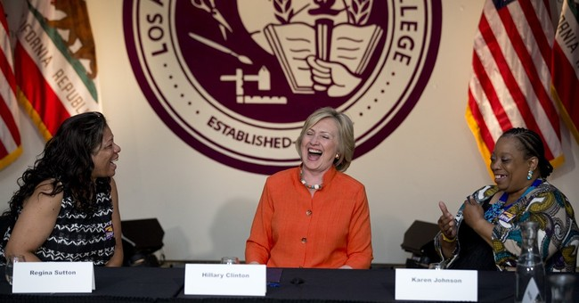 Clinton: 2016 rivals leave her 'in state of disbelief'