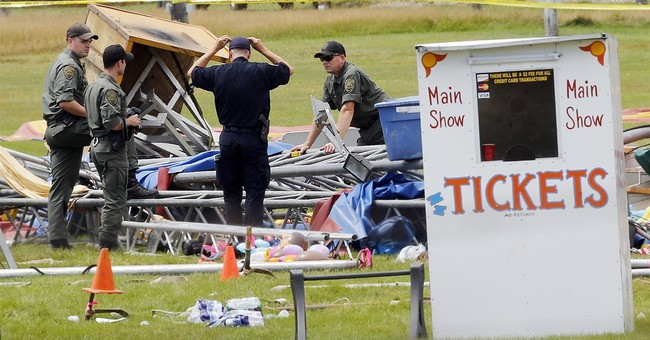 Tent collapse raises question of permit, inspection laws