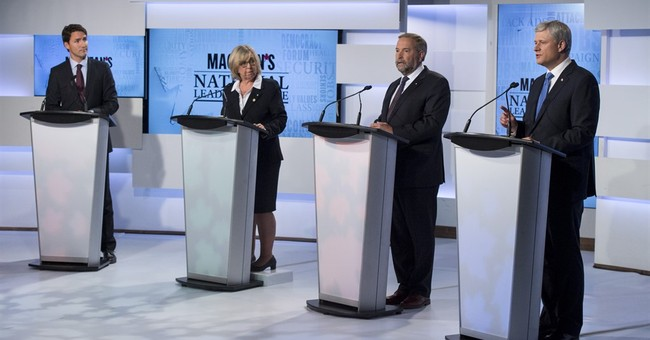 PM admits Canada may be in recession in election debate