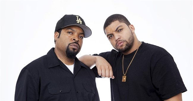 Ice Cube's son becomes him in 'Straight Outta Compton'