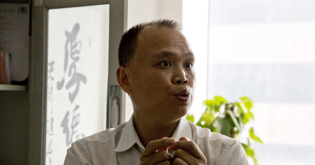Chinese lawyer taken away after supporting other lawyers
