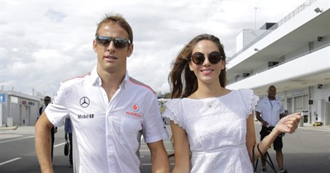 F1 driver Button says he was burgled in French Riviera villa