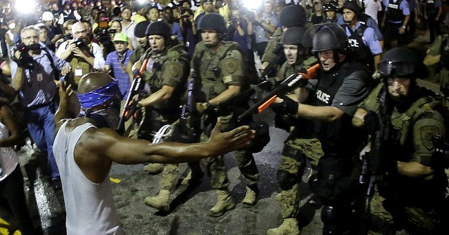 Timeline of events after fatal police shooting in Ferguson