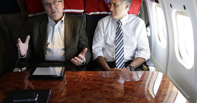 Mitt Romney, Jeb Bush moving toward clash in New Hampshire