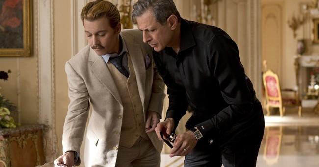 Review: Depp indulges inner clown in charmless 'Mortdecai'
