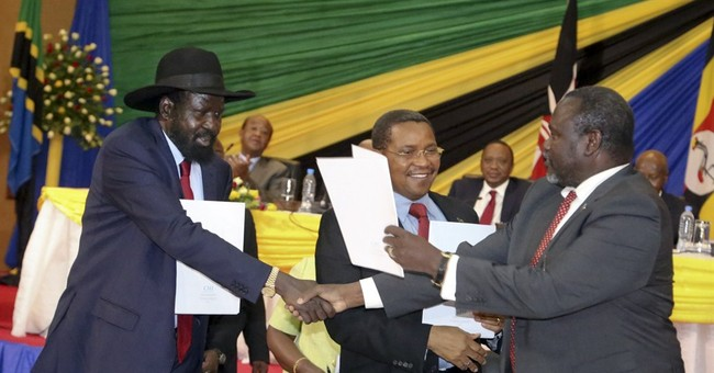S. Sudan gov't and rebels agree to re-unify political party