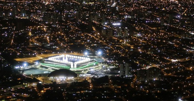 WCup 'white elephant' stadium in Brazil closed for repairs