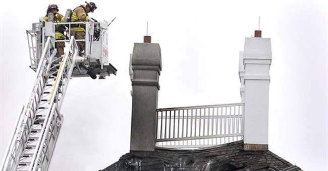 Family accused of $20M fraud amid mansion fires, theft claim