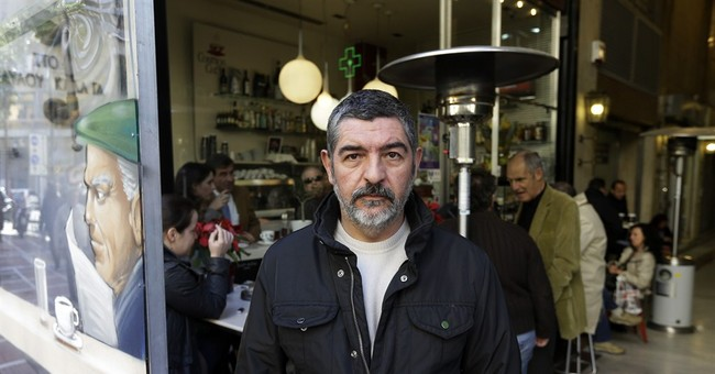 AP PHOTOS: Faces of voters ahead of key Greece elections