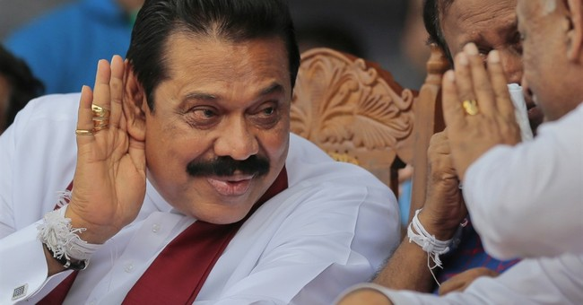 Sri Lanka's ex-strongman in tough battle for return to power