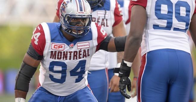Michael Sam makes Canadian Football League debut