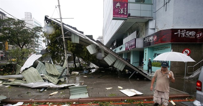 Typhoon weakens over China after leaving 22 dead, missing
