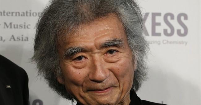 Seiji Ozawa cancels Japan concerts after fracturing hip