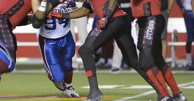 Michael Sam makes Canadian Football League debut