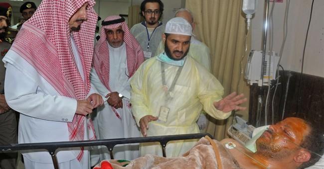 Saudi Arabia says Saudi citizen carried out mosque bombing