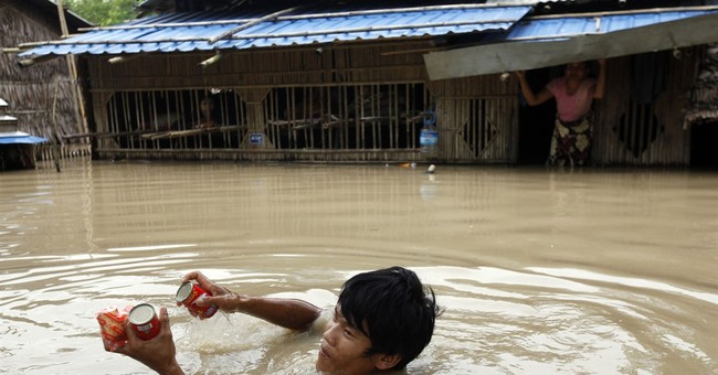 Nearly 1 million affected by Myanmar floods; 99 dead