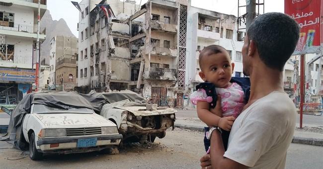 Yemeni women stage rare protest in rebel-held capital