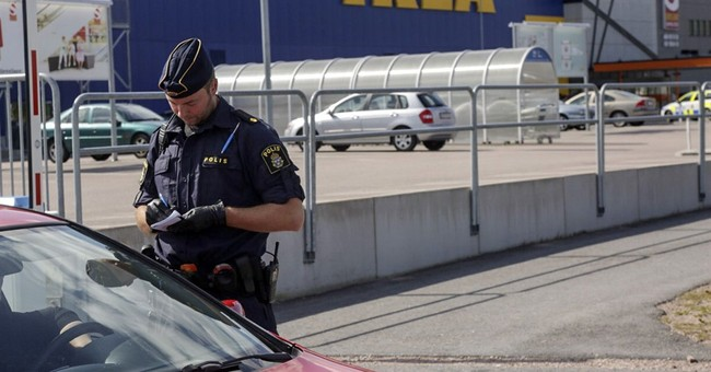 Knife attacks kill 2 people at central Sweden Ikea store