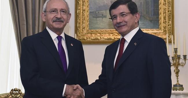 Turkey's political leaders in talks over coalition alliance