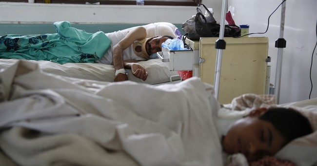Yemen hospitals overwhelmed by rising number of war-wounded